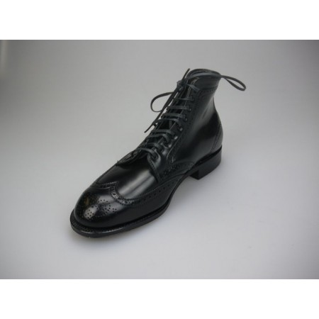 Alden Navy Blucher Wing...